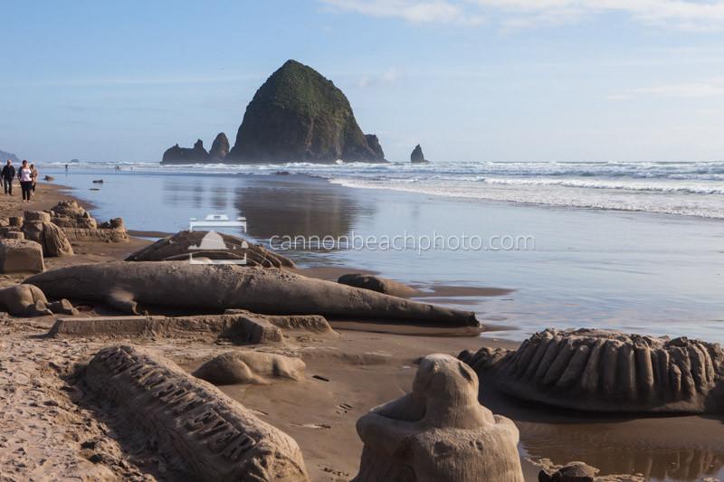 Cannon Beach Sandcastle Day Contest, Oregon Coast Pictures 1