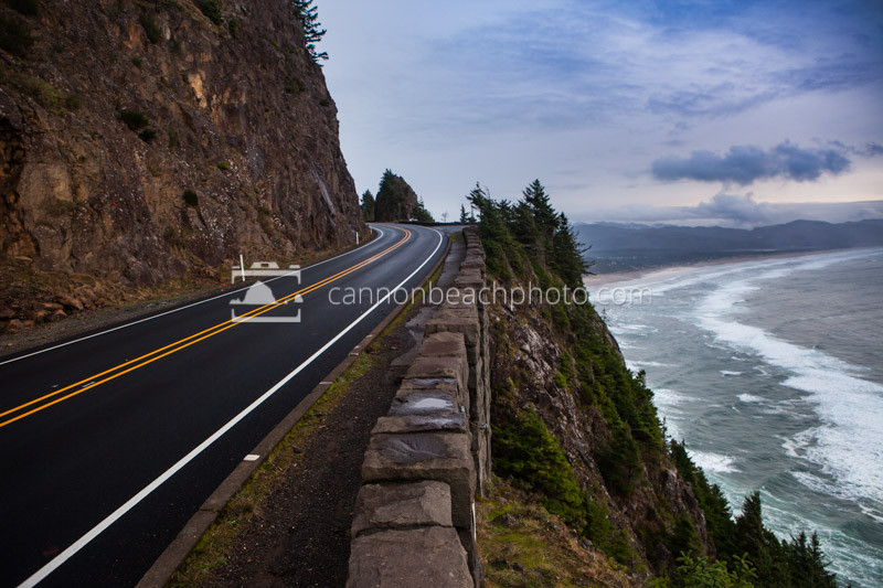 Cliffside Highway 101, Oregon Coast