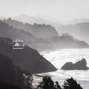 Oregon Coast Ridges of Ocean and Land