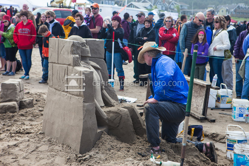 Oregon Coast Sand Castle Contest 1