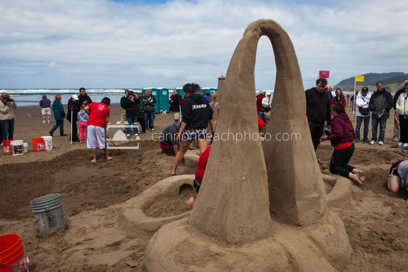 Oregon Coast Sand Castle Contest 2