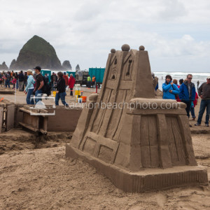 Oregon Coast Sand Castle Contest 4