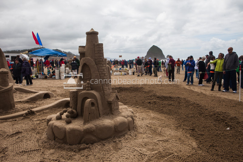 Oregon Coast Sand Castle Contest 5