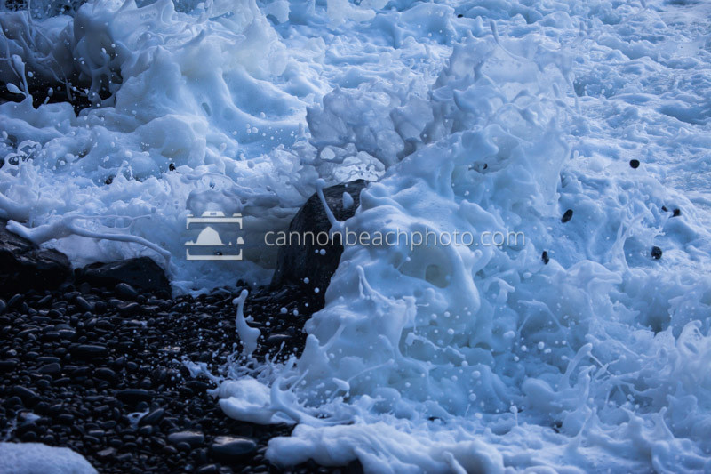 Oregon Coast Wave Foam Explosion 1