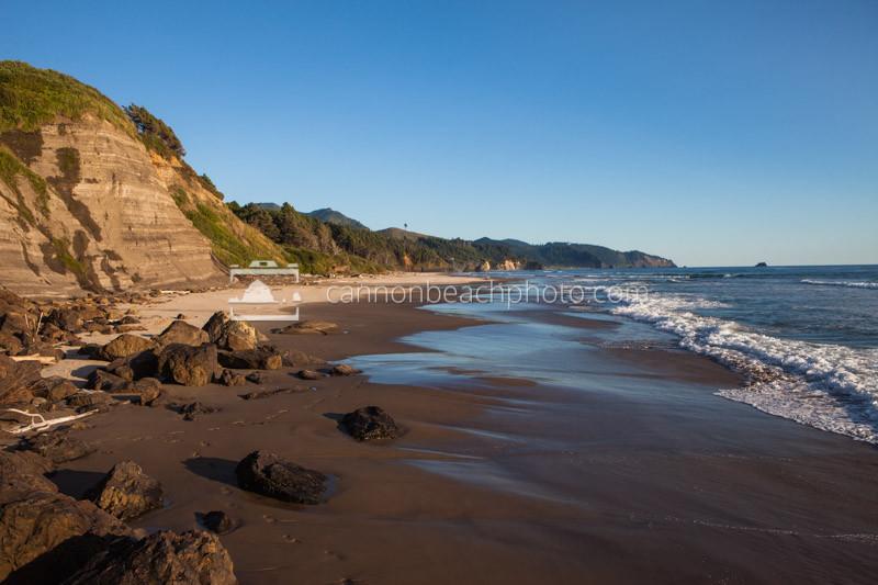 Oregon Coast on a Sunny Day