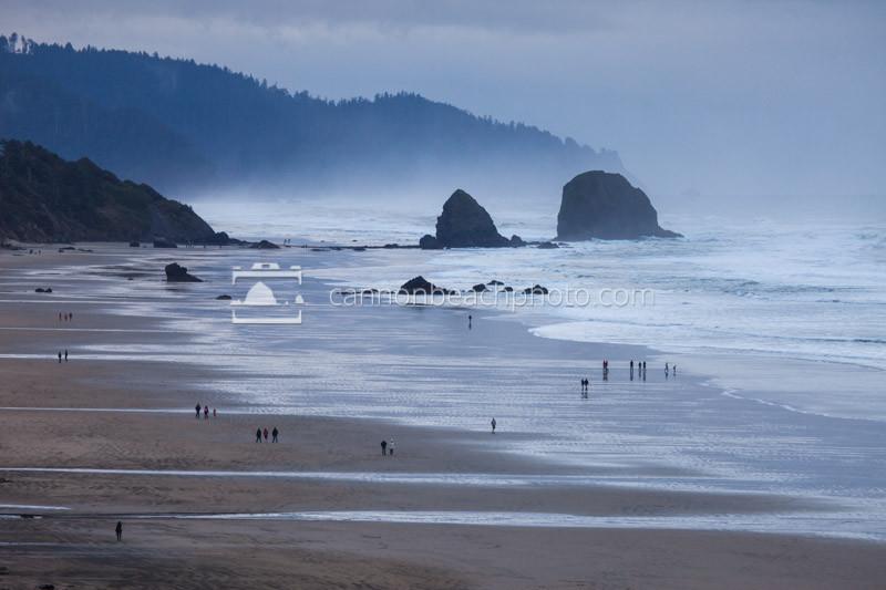 Silver Point Overcast, Oregon Coast Horizontal