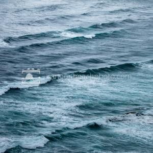 Stormy Pacific Ocean