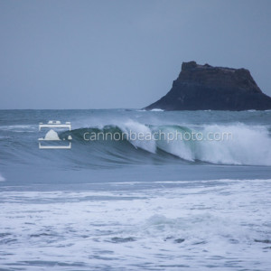 Castle Rock and Wave Curl