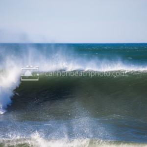 Cresting Wave, Seaside, Oregon