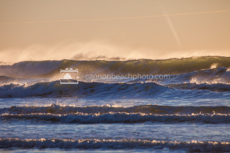Light in the Choppy Waves
