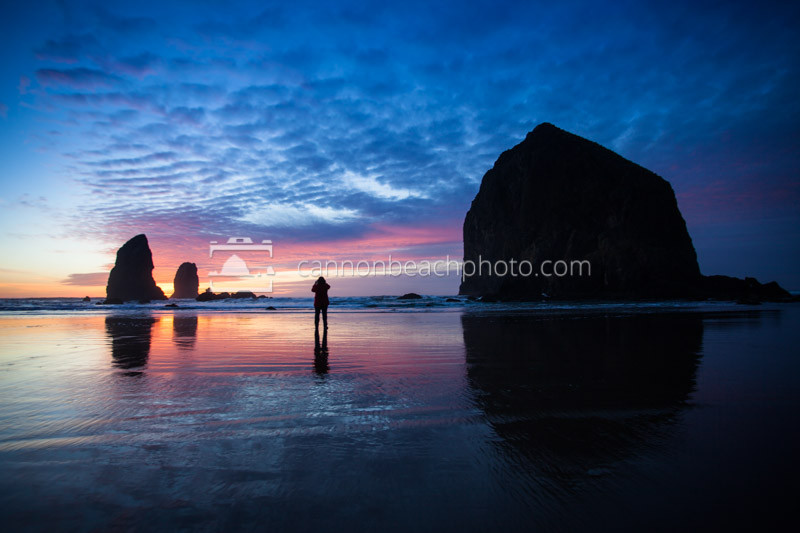 Photographing Sunset in Cannon Beach, Oregon