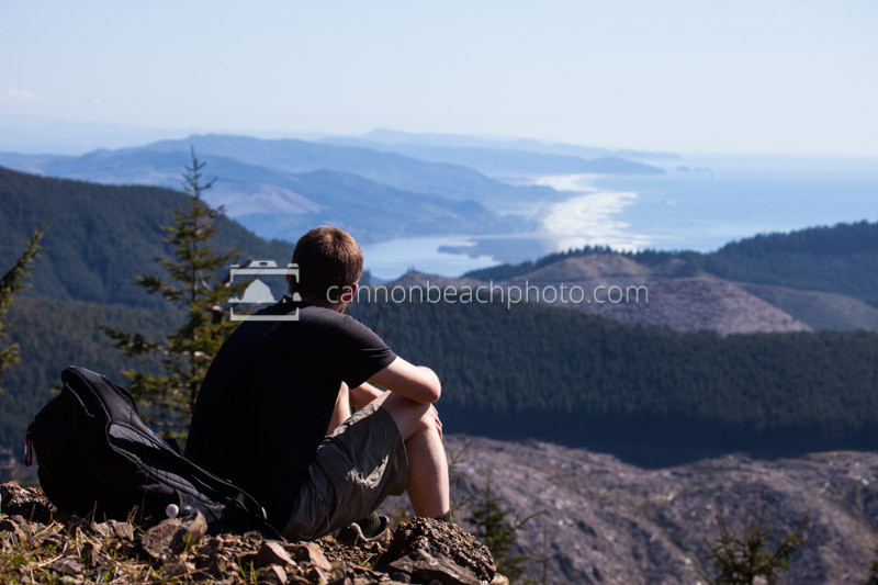 Relaxing on the Oregon Coast, Mountain Hike