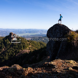 Top of Angora Peak, Oregon Coast