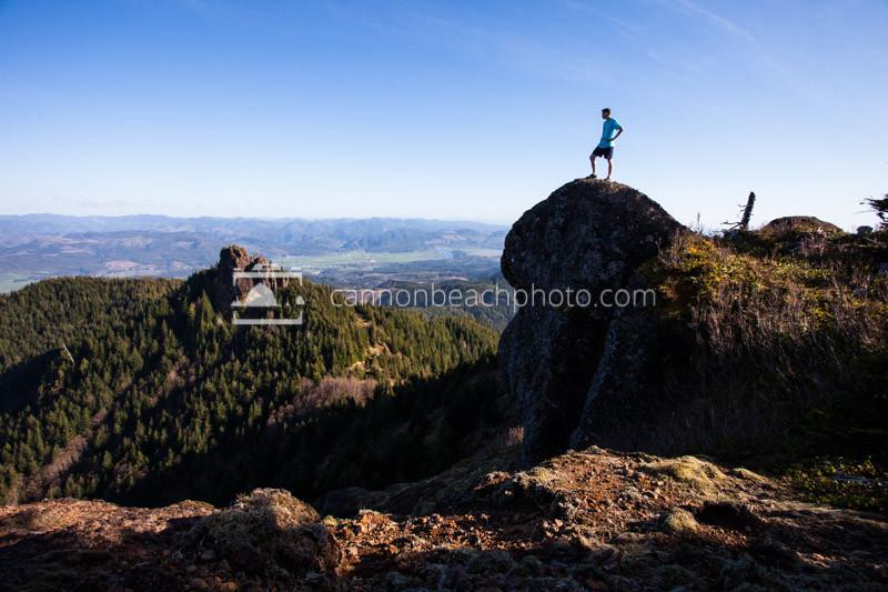 Top of Angora Peak, Oregon Coast