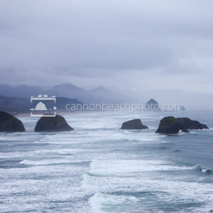 Ecola Point Mid Stormy Morning