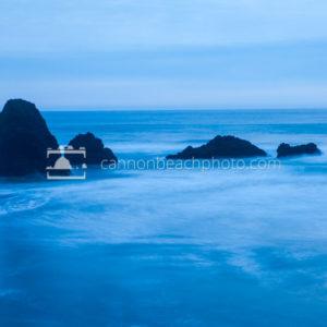 Evening Tide in Blue