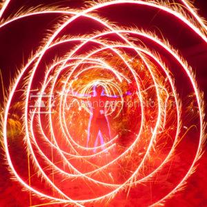 Fireworks Art Frame