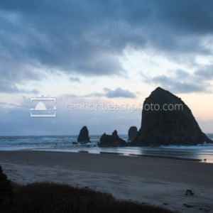 Hallmark View of Haystack Rock