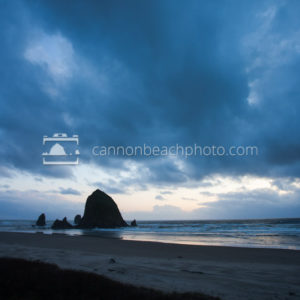 Wide View Haystack Rock Blues