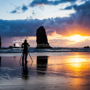 Cannon Beach Photographer, Oregon Coast Sunset