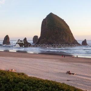 Hallmark View of Haystack Rock, Horizontal