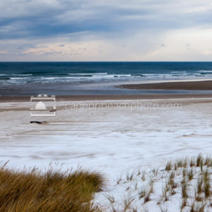 Snow and Sand in Cannon Beach