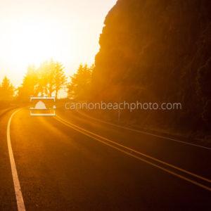Sunlit Highway 101