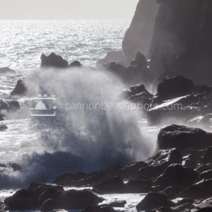 Waves Crash Neahkahnie Cliffs 3Manzanita, Oregon, photo, image, picture, photograph, photography, Oregon Coast, shore, beach, coast, coastline, exploregon, Pacific Northwest, PNW, explorecannonbeach, Nehalem, cliffs, rocky, wave, waves, curl, swell,