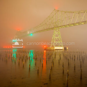 Astoria Bridge in Foggy Weather