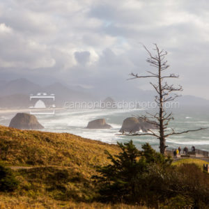 Storm Light at Ecola State Park