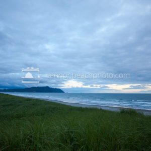 Gearhart View of Tillamook Head, Stormy Sky