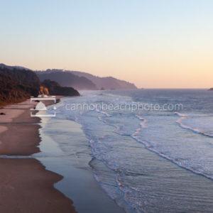 Evening Light on Arcadia State Park Beach