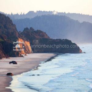 Hug Point Cliffs in Evening Light