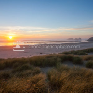 Sun Down over the Dunes, Chapman Beach