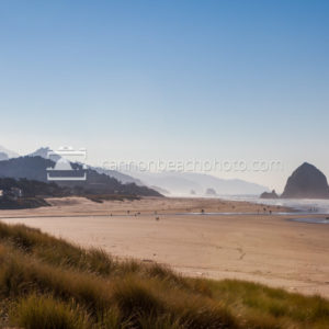 October Beach View of Cannon Beach