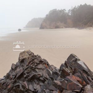 Rocky Edge at Hug Point State Park