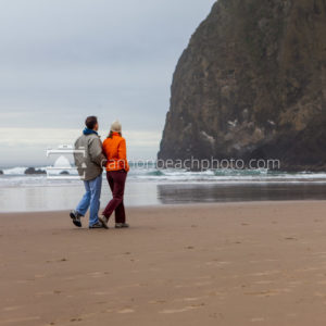 Couple at Needles, Overcast 2