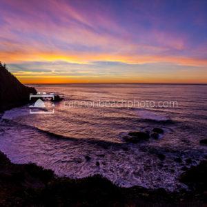 Falcon Cove Sunset Sky