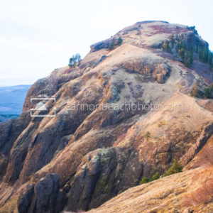 Peak of Saddle Mountain, Oregon