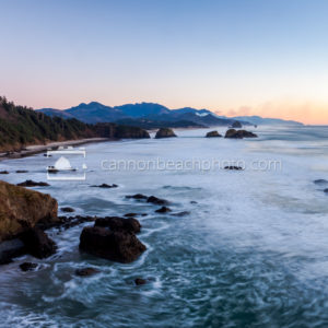 Fire in the Distance, Ecola State Park
