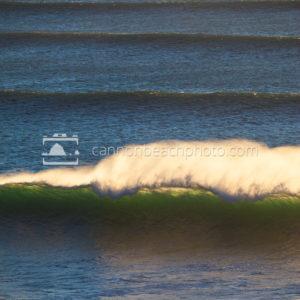 Pacific Ocean Wave Horsetails, Vertical