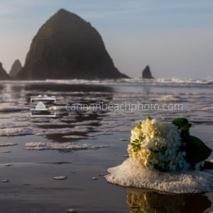 Wedding Bouquet with Haystack Rock 2
