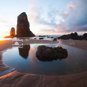 Reflective Pool - Haystack Rock