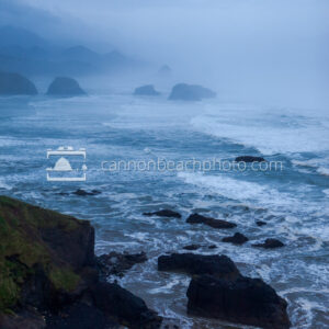 Foggy Morning at Ecola State Park