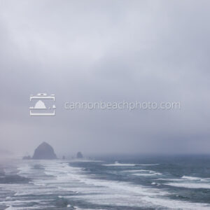 Stormy Skies over Cannon Beach