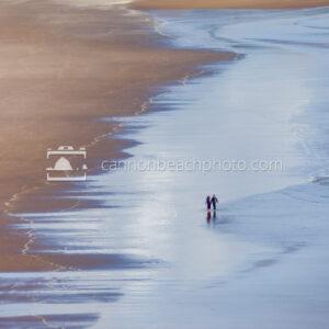 Walking Hand-in-Hand Down the Beach, Horizontal