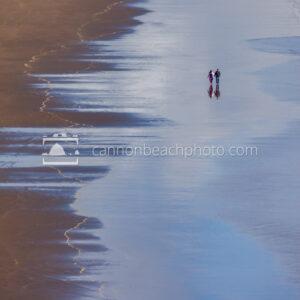 Walking Hand-in-Hand Down the Beach, Vertical