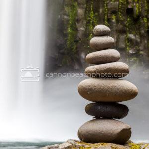 Stones in Balance, Abiqua Falls