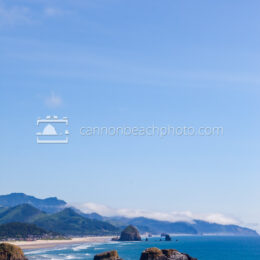 Blue Skies Vertical, Ecola State Park