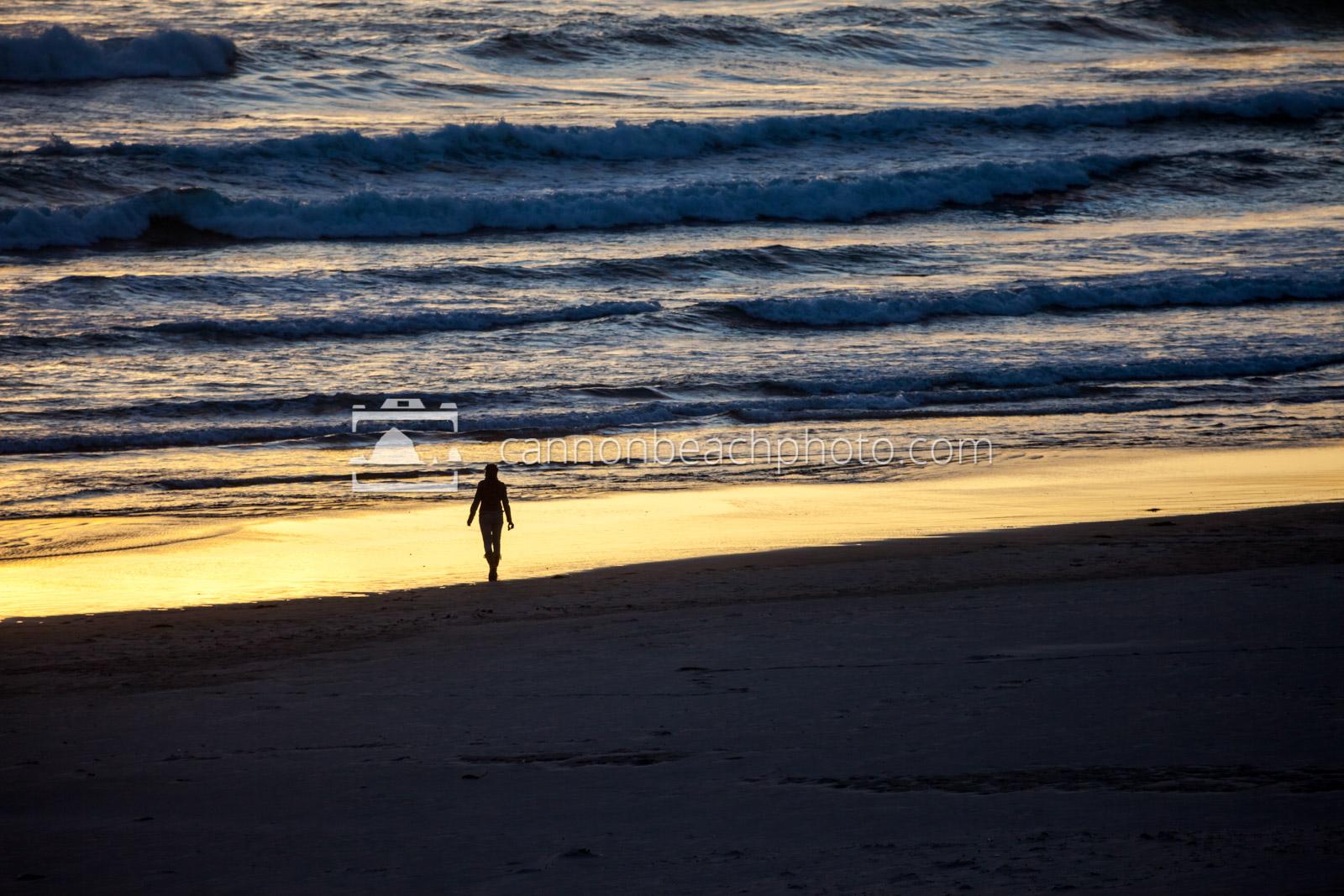 Sunset Strolling the Shoreline 1